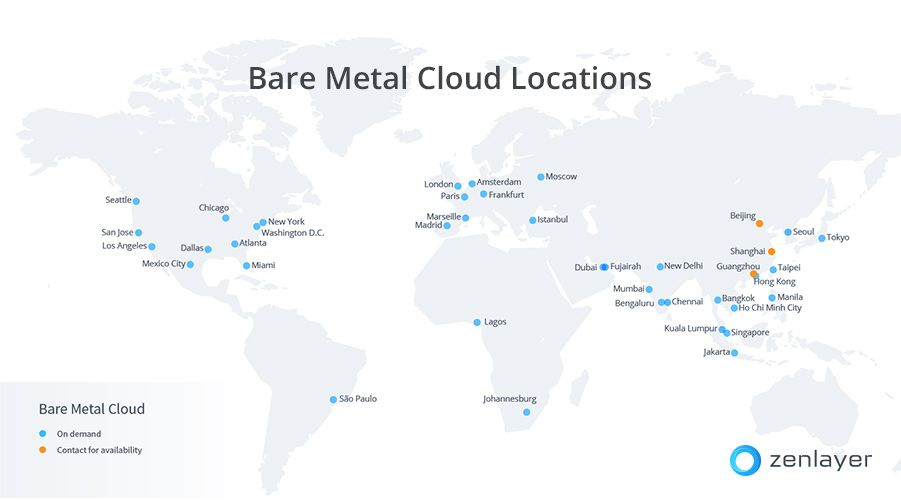 Bare Metal Cloud Celebrates 40 Locations!